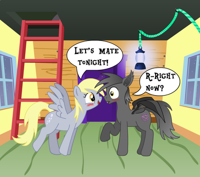 Derpy Has An Idea by Discourt