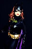 Batgirl Cosplay - New Cowl by ozbattlechick
