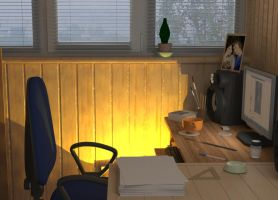 my work space_2 by Philip275