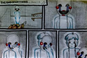 FNAF 3 Comic: THE END OF ANYTHING (part 33) by SammfeatBlueheart