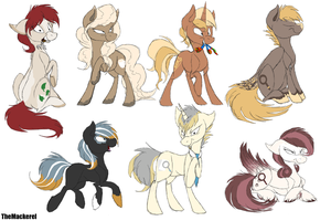 REDESIGNS by TheMackerel