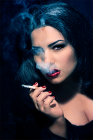 smoking beauty by CissiJoe