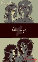 Jane the killer x Jeff the killer by haozeke93