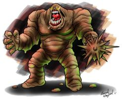 Clayface by dcaarmus