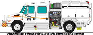 Oreconsin Forestry Division Brush Fire Truck by mcspyder1