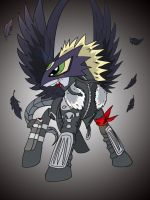 Beelzemon MLP FIM version (Good) by Beelzemon1234