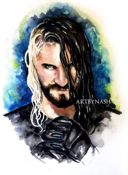 Seth Rollins - The second coming. by Artbynash