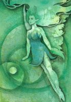 The Green Faerie by Lamorien