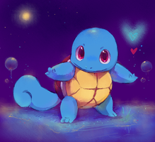 squirtle by kori7hatsumine