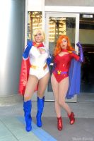 Jessica Rabbit and Powergirl by MomoKurumi
