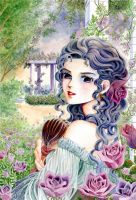 Commission Fanaa in RoseGarden by quybaba
