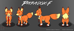 Paradox-F Reference Sheet (Commission) by Reptonic