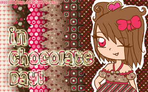 In a Chocolate Day - Wallpaper by sasoriikitty