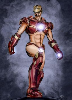 Iron Man - Costume Revision by HaloGhost