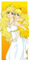 MM - Mother and Princess II by Sailor-Serenity