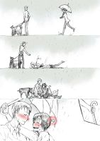 APH: Smile In The Rain Omake by Germany-x-Italy-Fans