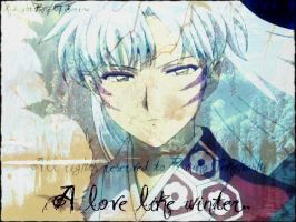 Sesshomaru Edit by MidnightRoseofSorrow