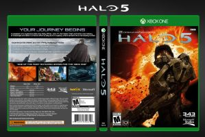 Halo 5 | Fan-Made Complete Box Art by DANYVADERDAY