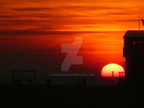 St. Peter Ording Sunset by balibob