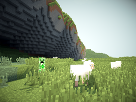 minecraft shader 2 by ProNorst