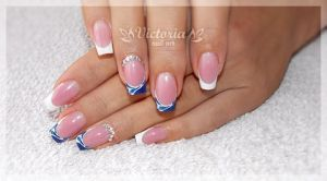 Nail art 369 (Gel nails) by ChocolateBlood