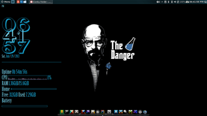 The Danger pack. Conky With Wallpaper by speedracker