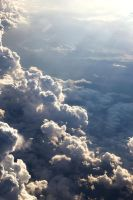 Clouds from a 747 by RakelClark