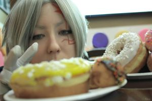D.Gray-man:Donuts paradise by DarkMousyR