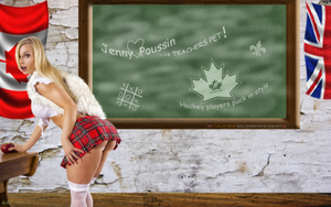 BABEWORLD#249: Jenny Poussin: TEACHERS PET by CSuk-1T