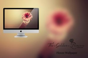 Flower Wallpaper .. by The-Golden-Princess