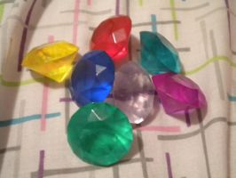 Chaos Emeralds by ShadowsEspeon