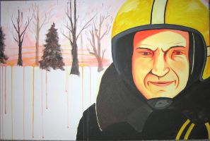 Mon pere sur l hiver by greensprout