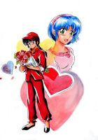 Ranma Valentine_s Day by ranmaonehalf