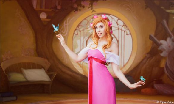 Giselle - Disney Enchanted by Paper-Cube