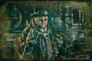 Steampunk Baron 2 by Aixchel