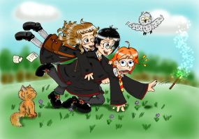 Ron Glomp by Nekori98 by Hogwarts-Castle
