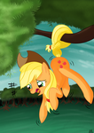 Some pony get me DOWN !!! by Ailynd