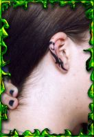 Tribal Ear by DesignTheSkinYourIn