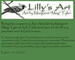 LillysArtistAlleyCoupon2013 by lilly-peacecraft