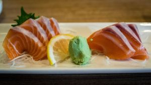 Salmon 2 ways by feria233