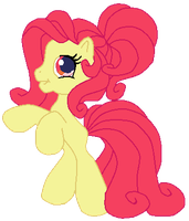 Apple Bloom as G3.5 Rainbow Dash by AdolfWolfed4Life
