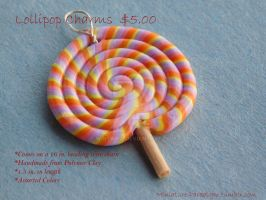 Lollipop Necklace by Wintaria