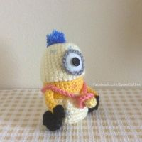 Baby Minion Amigurumi Crochet Doll, Despicable Me by Sylemn
