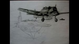 Plane in progress. by 09Pumba09