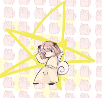 Clefairy Girl by Vincenttmw