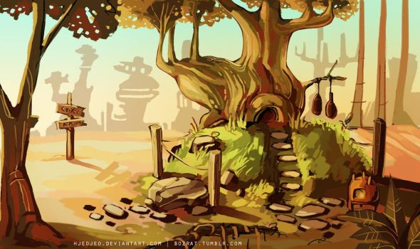 environment concept for AKVaS project by HJeojeo