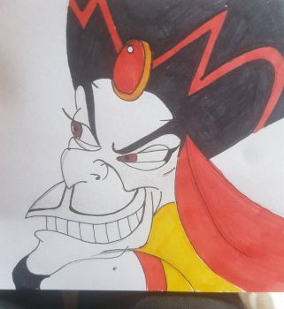 Jafar (unfinished) by Cazzah1990