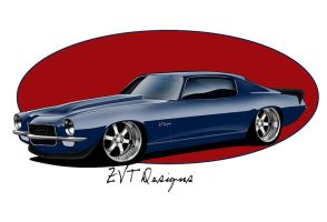 71 Camaro Z28 by zvtdesigns