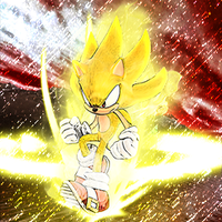 Super Sonic Unleashed by NeroDeAngelo
