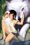 Mononoke Hime - San and Moro by pu